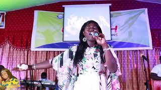 Sandra amponsah performance at sarah ...