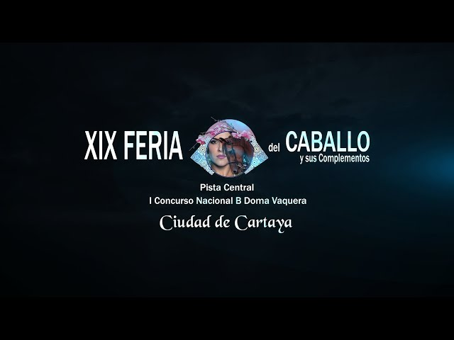 Feria del Caballo 2020: I Concurso Nacional B de Doma Vaquera