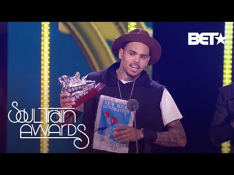 SNEAK PEEK  Chris Brown s Acceptance Speech from SOUL TRAIN AWARDS