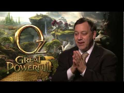 Director Sam Raimi 'Oz The Great and Powerful' Interview - EXCLUSIVE!