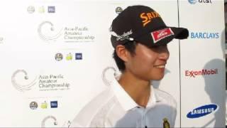 Asia Pacific Amateur Championship: Abel Tam - Round 2