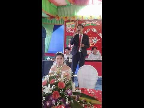 Hát đám cưới Yêu em như câu hò ví dặm...Minh Trãi - Ngọc Lâm THPT Tống Văn Trân