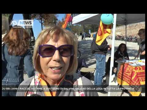 21/09/2019 | RACCOLTA FIRME A SOSTEGNO DI SALVINI:...