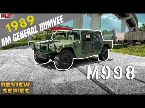 1989 AM General Humvee Basic Build For Sale [4k]   REVIEW SERIES