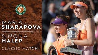 RG Classics - Maria Sharapova vs Simona Halep - 2014 | Roland Garros
