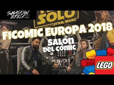 FiCOMIC 2018 Europa /// Salón Internacional del Cómic/// ESPAÑOL HD