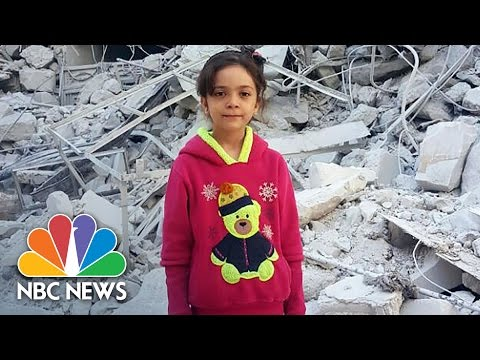 Seven-Year-Old Bana Alabed Tweets From War-Torn Aleppo | NBC News