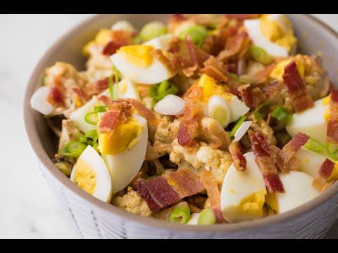 Loaded Summer Cauliflower Salad • Tasty