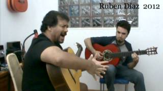 Letras por Tangos con El Chato de Malaga en CFG studio / Ruben Diaz - Alex Munteanu