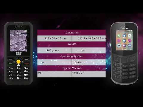 CAT B30 vs Nokia 130 - Phone comparison