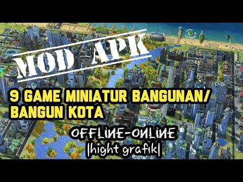 9 Game Miniatur Bangunan/bangun Kota Mod Apk |offline-online
