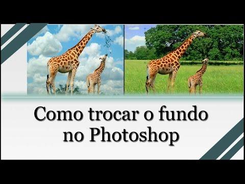 Como Mudar O Fundo De Uma Foto No Photoshop