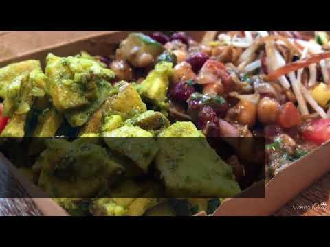 Green Queen Video: nood food Soho's Vegan & Vegetarian Salad Bar