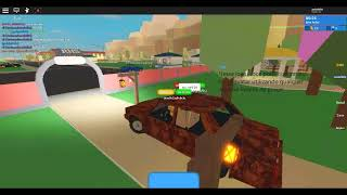 Playing with the Lena #1 (grape) (Roblox High School 2)