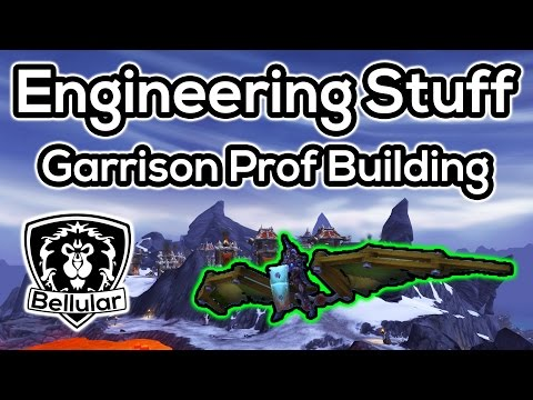 Garrison Engineering Building - Gadgets, Pets & More - Warlords of Draenor Beta