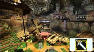 minecraft underground project miasto podziemne