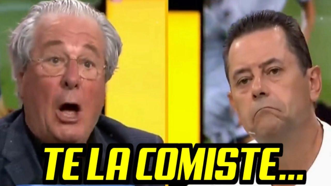 """D'ALESSANDRO RETRATA A TOMAS RONCERO """"TE LA COMISTE"""" REAL MADRID ELIMINADO, CHIRINGUITO DE JUGONES"""