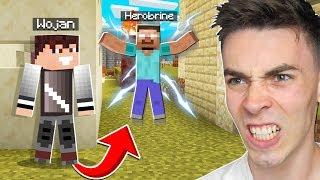 SZPIEGUJE HEROBRINE który ZROBIŁ TO... w Minecraft