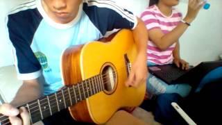 Khoảng trời của bé cover by Bích Tiền, guitar Ti Li :)))