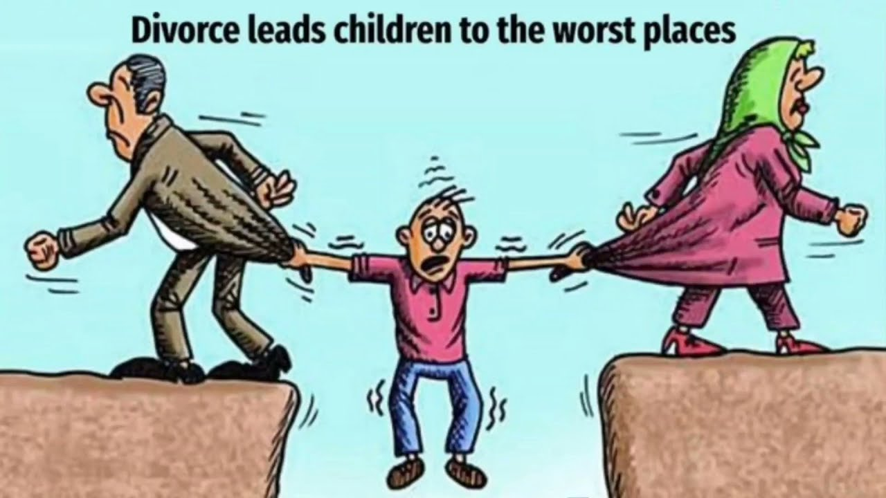 Divorce leads children to the worst places