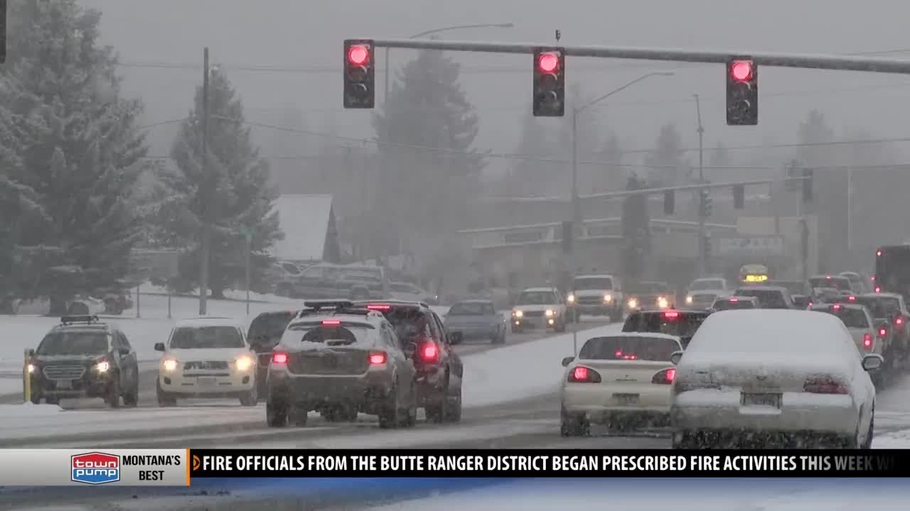 Montana Highway Patrol reports spike in accidents due to weather