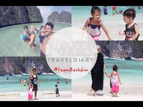 PHI PHI ISLAND + MAYA BAY | BOAT TOUR PHUKET #teamBachdim