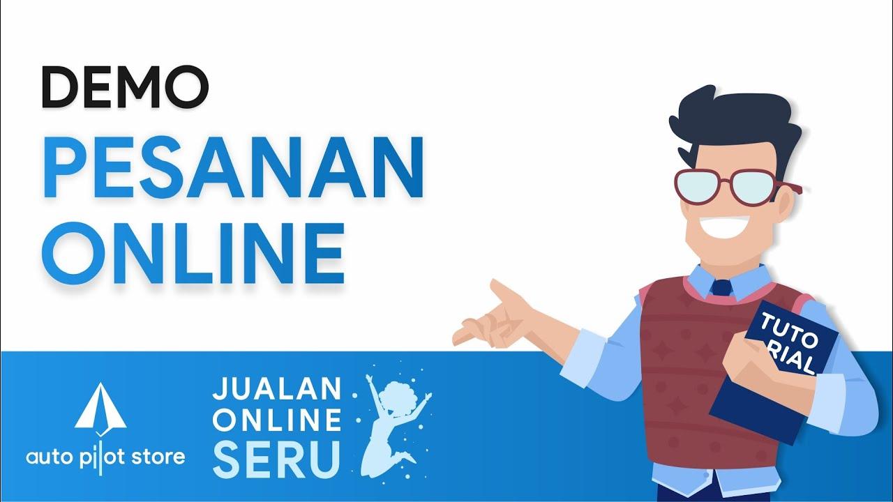 Jualan Online Seru 2 - Pesanan Online - YouTube