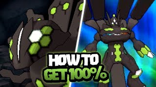 How to get Zygarde 100% Form in Pokemon Ultra Sun and Ultra Moon