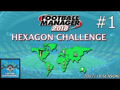 Let's Play FM18 | Hexagon Challenge S01 E01: FINDING A JOB! | Football Manager 2018