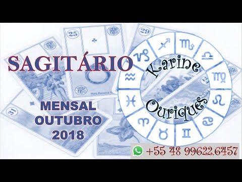 SAGITÁRIO - MESA REAL - OUTUBRO/2018 COM KARINE OURIQUES