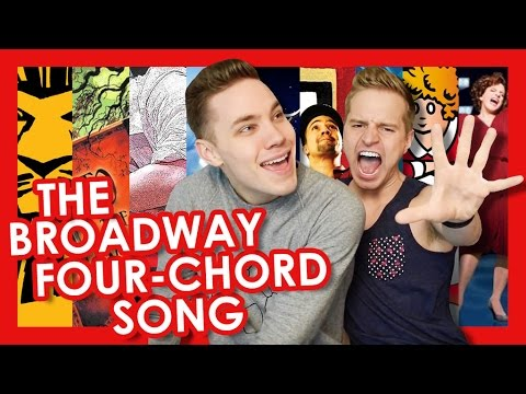 The Broadway Four-Chord Song | TYLER MOUNT