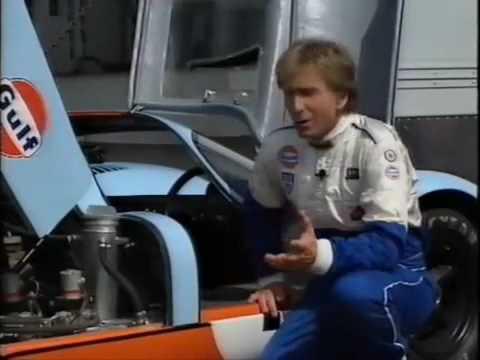 Porsche 917 History, The 4.5 Liter 12-Cylinder Driven by Brian Redman