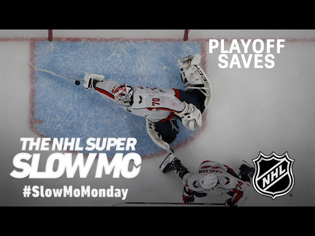 Super Slow Mo: Best Playoff Saves