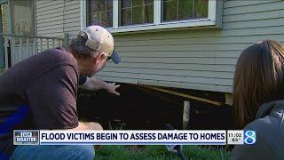 Mid-Michigan residents return to flood-damaged homes