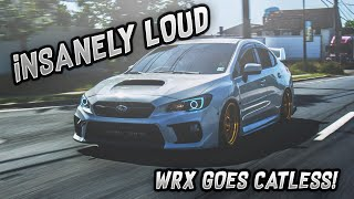INSANELY LOUD WRX (Catless Downpipe install)
