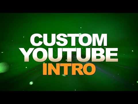 Custom Youtube Intro [2018] Maker AMAZING!!