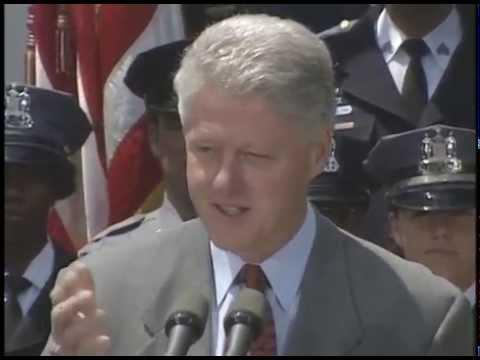 President Clinton at Announcement of Proposed Anticrime Legislation (1999)