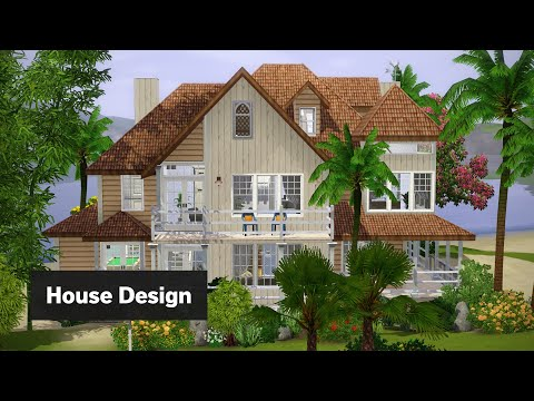 Beachside Villa | The Sims 3 House Building