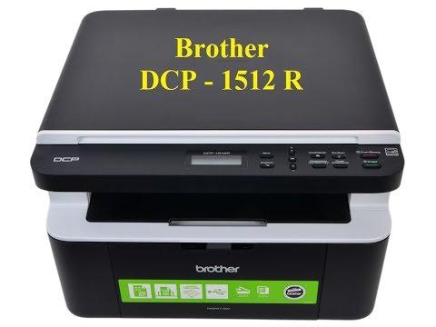 Принтер МФУ Brother DCP 1512R обнулить счётчик при сообщении нет тонера