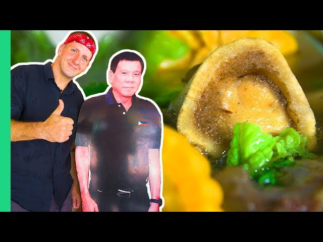 Presidential Food Tour! Duterte's Favorite Carendaria and the MOST UNIQUE food in Davao!
