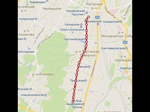 Travel Russia Moscow by tram №1