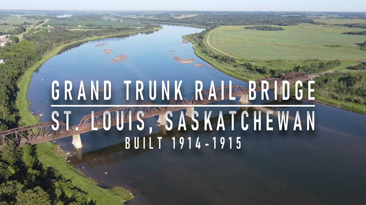 ABANDONED SASKATCHEWAN - Grand Trunk Rail Bridge - St. Louis, SK