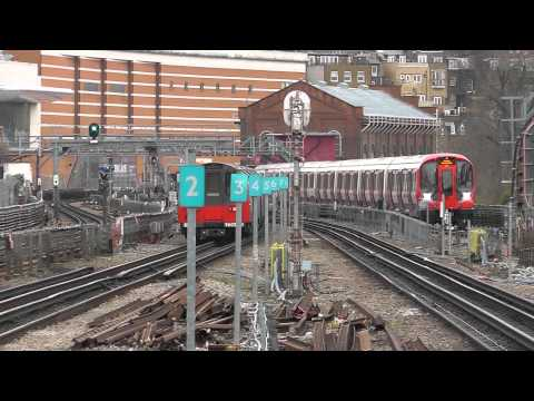 Trains @ West Hampstead Stations