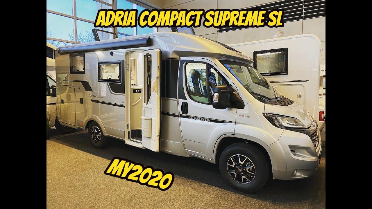 Adria Compact Supreme SL 8 made by ADRIA
