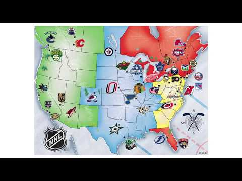 NHL Expansion Theory   36 Teams