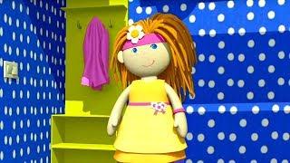 Кукольный домик - Прихожая. Сборник мультфильмов для маленьких девочек.
