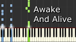 [Skillet - Awake And Alive] Piano Tutorial