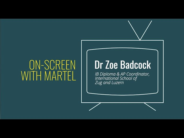 Digital Education in the Time of COVID-19 - On-screen with MARTEL