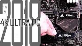 4K Ultra Gaming PC 2018 #7 M.2 SSD und i7 8700K  / Selber zusammenbauen für Anfänger
