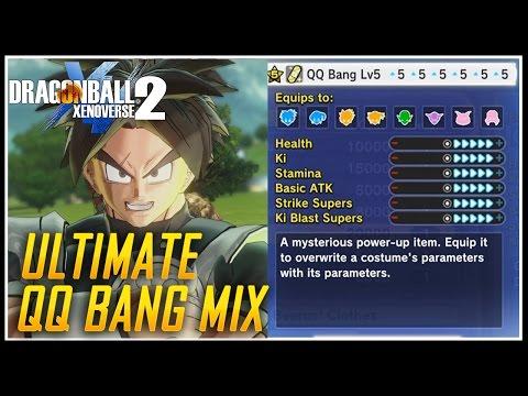 ULTIMATE QQ BANG MIX | DRAGON BALL XENOVERSE 2